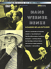 Henze: Composers Of Our Time: Memoirs [DVD]