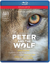 Prokofiev: Peter and the Wolf / Murphy, Royal Ballet Sinfonia [Blu-Ray]