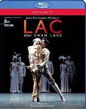 Tchaikovsky: 'Swan Lake' ('Lac' adaptation) / Behrend, Ball, Bourgond, Prieto, Koike, Vergruggen, Coppieters et al.; Les Ballets de Monte Carlo; St. Louis SO; Slatkin.  (Blu-ray)
