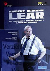 Aribert Reimann: Lear, opera (adapted from Shakespeare) / Bo Skovhus, Katja Pieweck, Hellen Kwon, Siobhan Stagg. Simone Young, Hamburg State Opera [DVD]