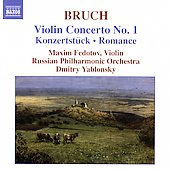 Bruch: Violin Concerto no 1, etc / Fedotov, Yablonsky, et al