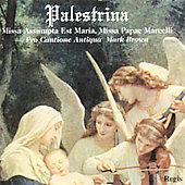 Palestrina: Missa Assumpta est Maria, etc / Mark Brown