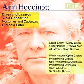 Hoddinott: Dives and Lazarus, Viola Concertino, etc