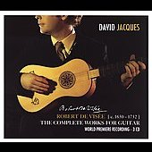 Robert de Vis&eacute;e: Complete Works for Guitar / D. Jacques