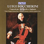 Boccherini: Cello Concertos, Symphonies / Ferri, et al