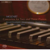 Mozart: Concertos for 2 & 3 Pianos / Huss, Brautigam, et al