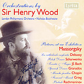 Orchestrations by Sir Henry Wood - Bach, etc / Braithwaite
