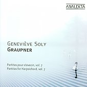 Graupner: Partitas for Harpsichord Vol 7 / Geneviève Soly