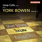 Bowen: Piano Works Vol 3 / Joop Celis