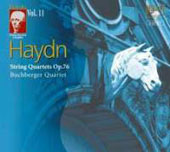 Haydn: String Quartets Vol 11 - Op 76 / Buchberger String Quartet