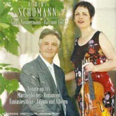 Schumann: Sonate Op. 105, etc / Holl Zimmermann