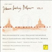 Johann Ludwig Böhner: Music at the Court of Gotha (Vol. 2) - Solo Concertos & Orchestral Works / Viktor Barschewitz, violin; Thuringian State SO, Gotha; Breuer