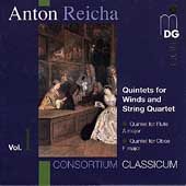 Reicha: Quintets for Winds & String Quartet Vol 1