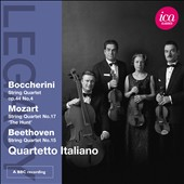 Boccherini: Quartet Op. 44/4; Mozart: 