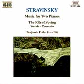 Stravinsky: Music for Two Pianos / Frith, Hill