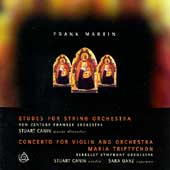 Martin: Etudes For String Orchestra, etc / Canin, Ganz