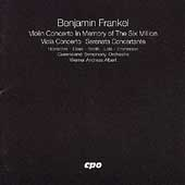 Frankel: Violin Concerto, Viola Concerto, etc / Albert