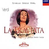 Verdi: La Traviata - Highlights / Sutherland, Bergonzi