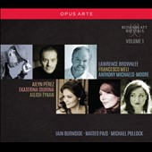 Rosenblatt Recitals, Vol. 1 / Lawrence Brownlee, Francesco Meli, Anthonly Michaels-Moore, Ailyn Pérz, Ekaterina Siurina, Alish Tynan