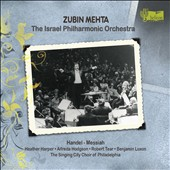 Handel: Messiah / The Israel PO; Mehta