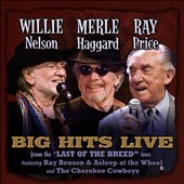 Merle Haggard/Ray Price/Willie Nelson: Willie Merlie & Ray: Big Hits Live From the