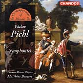 Pichl: Symphonies / Matthias Bamert, London Mozart Players