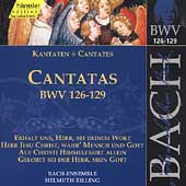 Edition Bachakademie Vol 40 - Cantatas BWV 126-129 / Rilling