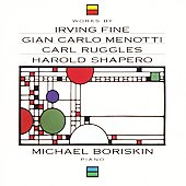 Works by Fine, Menotti, Ruggles, etc / Michael Boriskin