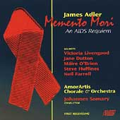 Adler: Memento mori - An AIDS Requiem /Somary, Dutton, et al
