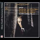 Glenn Gould Anniversary Edition - Bach: Partitas no 1, 2 & 3