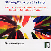 StrongStrangeStrings - Doati, Brouwer, et al / Elena Casoli
