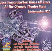 Earl Hines Dixieland All-Stars/Jack Teagarden: At the Olympia Theatre, Paris, France - Nov. 6, 1957