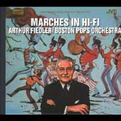 Marches in Hi-Fi / Arthur Fiedler, Boston Pops Orchestra