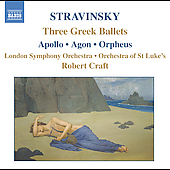 Stravinsky: Three Greek Ballets / Robert Craft, et al