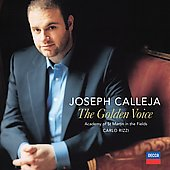 Joseph Calleja - The Golden Voice / Rizzi, ASMF