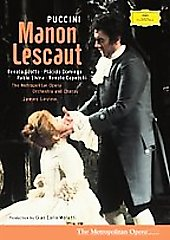 Puccini: Manon Lescaut, Scotto, Domingo, Levine/MET [DVD]
