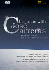 Jose Carreras Collection: Christmas with Jose Carreras / with Mozart Sangerknaben, Vienna [DVD]