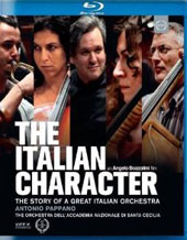 The Italian Character: The Story of a Great Italian Orchestra / Evgeny Kissin Lang Lang, Stefano Bollani. Pappano [Blu-Ray]