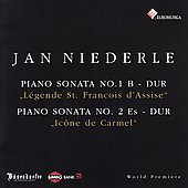 Jan Niederle: Piano Sonatas no 1 & 2 / Jan Niederle