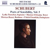 Deutsche Schubert-Lied-Edition 22-Poets of Sensiblity Vol 5