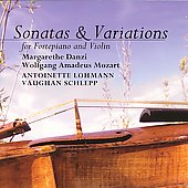 Sonatas & Variations - M. Danzi, W. Mozart /Lohmann, Schlepp