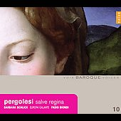 Pergolesi: Salve regina / Biondi, Schlick, Europa Galante