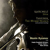 Kancheli: Styx;  Tavener / Rysanov, Sirmais, et al