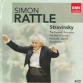Stravinsky: The Firebird, Petrushka, The Rite of Spring, etc / Sir Simon Rattle, et al