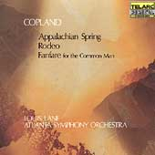 Copland: Appalachian Spring, etc / Lane, Atlanta SO