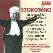 Leopold Stokowski Conducts Hovhaness, Milhaud, Copland, Serebrier