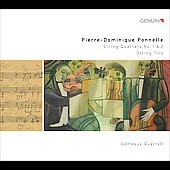 Pierre-Dominique Ponnelle: String Quartets No. 1 & 2