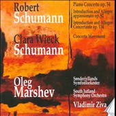 Robert Schumann: Piano Concerto Op. 54; Clara Wieck Schumann: Concerto Movement in F