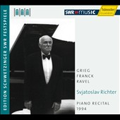 Sviatoslav Richter: Piano Recital 1994