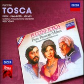 Puccini: Tosca / Mirella Freni, Luciano Pavarotti, Sherrill Milnes, Richard van Allan